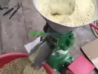 Factory supply 1200-1500 kg/h cattle poultry animal feed pellet making mill machine equipment