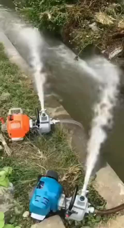 "Small diesel water pump for agricultural irrigation mini 2 ""3"" 4 ""self priming pump gasoline pump"