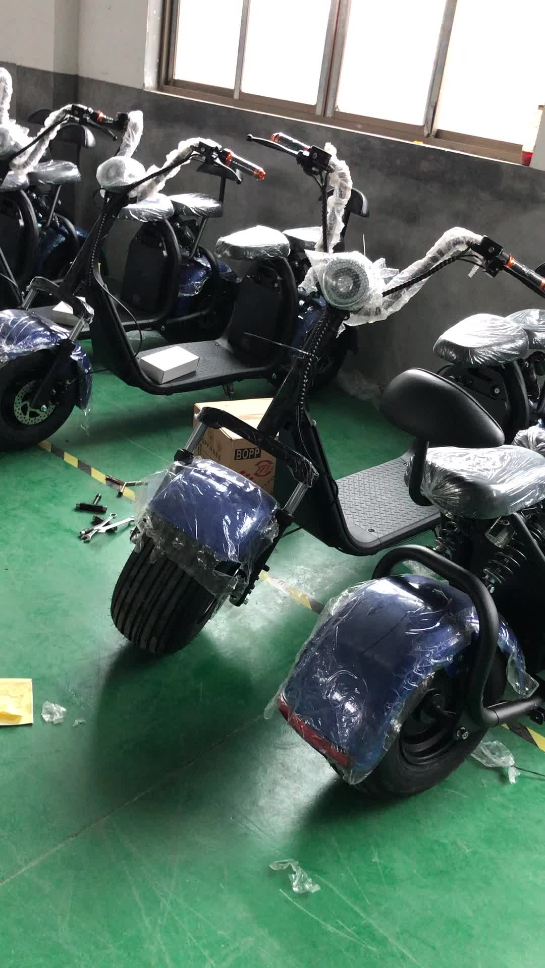 2017 electric scooter 800w citycoco Battery removable electrical scooter motor, adult electric motorcycle(C07)