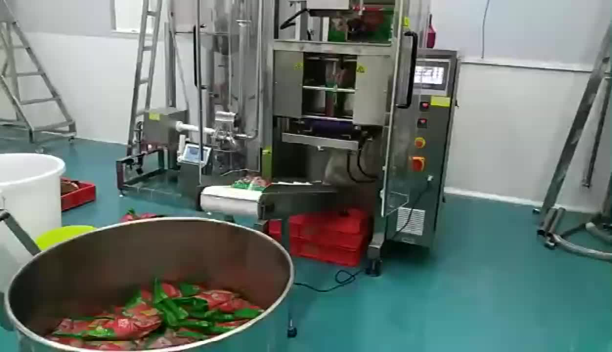 High Quality Airless Peanut Butter Filling Sealing Packing Machine