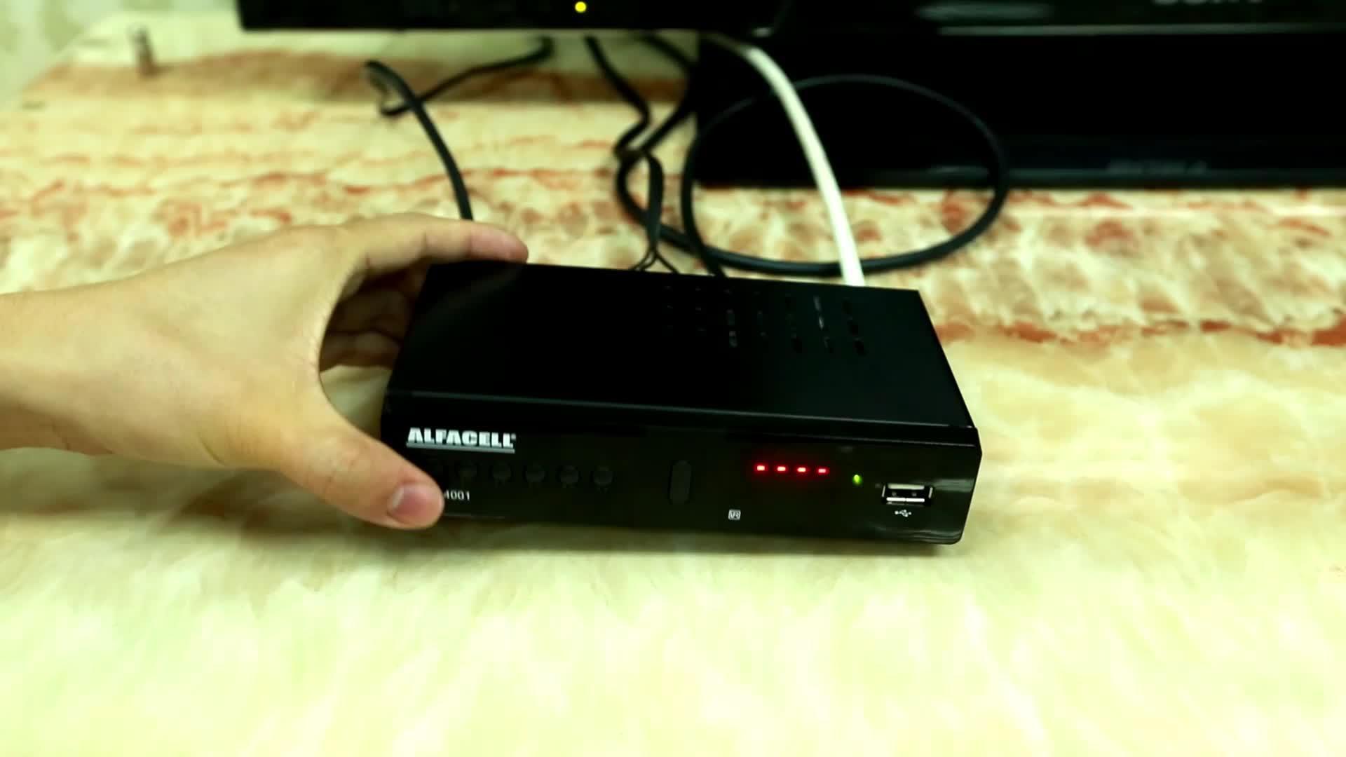 Isdb-t modulatore tv box fabbrica fabbricazione Filippine HD 1080 p analogico a digitale isdb-t decoder