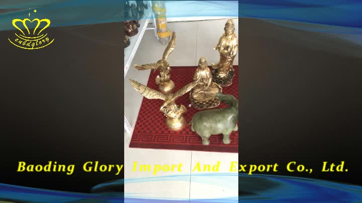 Home Ornaments Figurines Products Bronze Small Boy With Lotus Statue