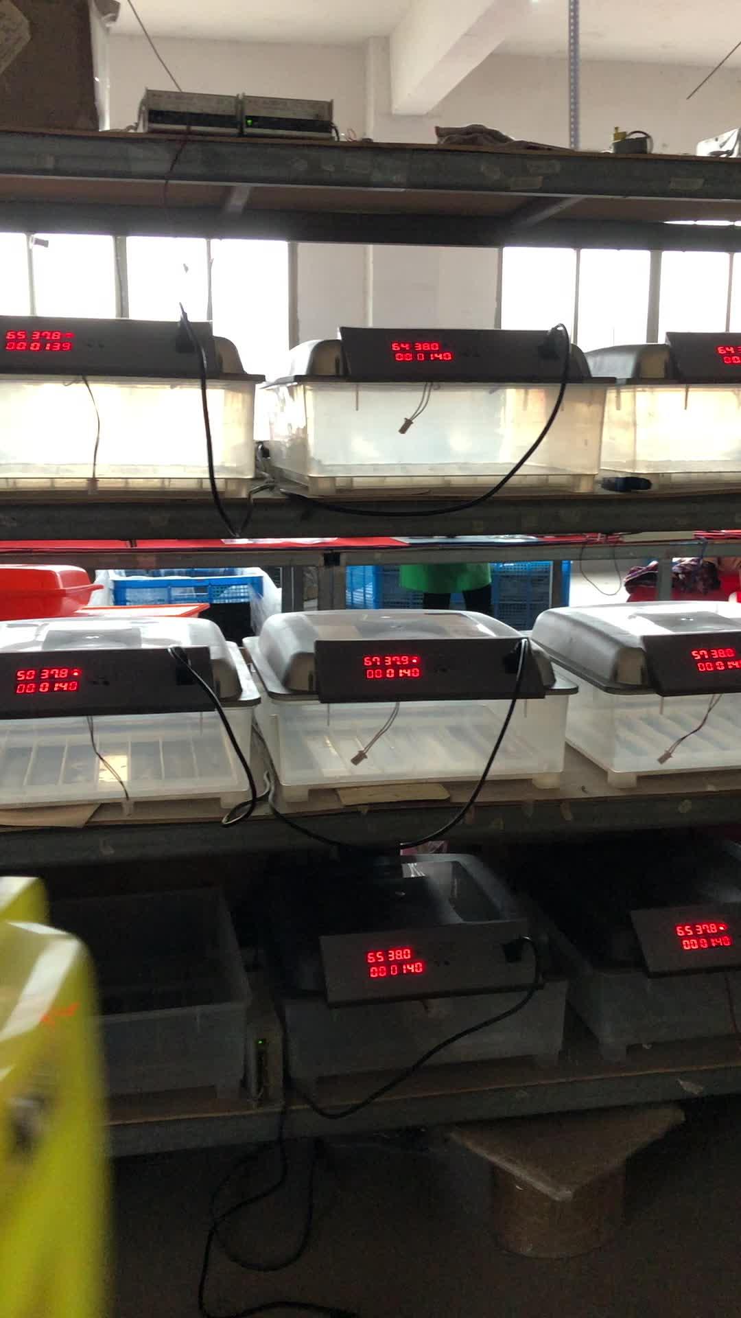 Patentado automática completa de alimentación dual mini incubadora de huevos, 220V y 12V 32 huevos incubadora para la venta con CE aprobado YZ-32