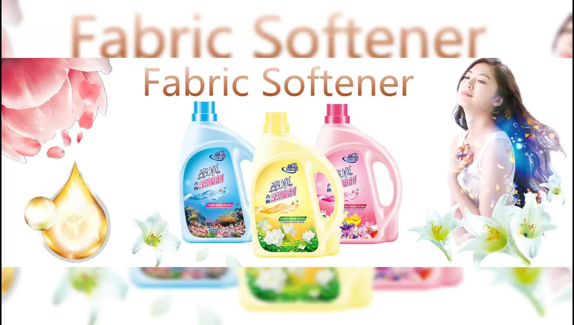 Wasverzachter fles Wasmiddel Verpakking In Doos Bieden OEM/ODM Privater Order doekjes