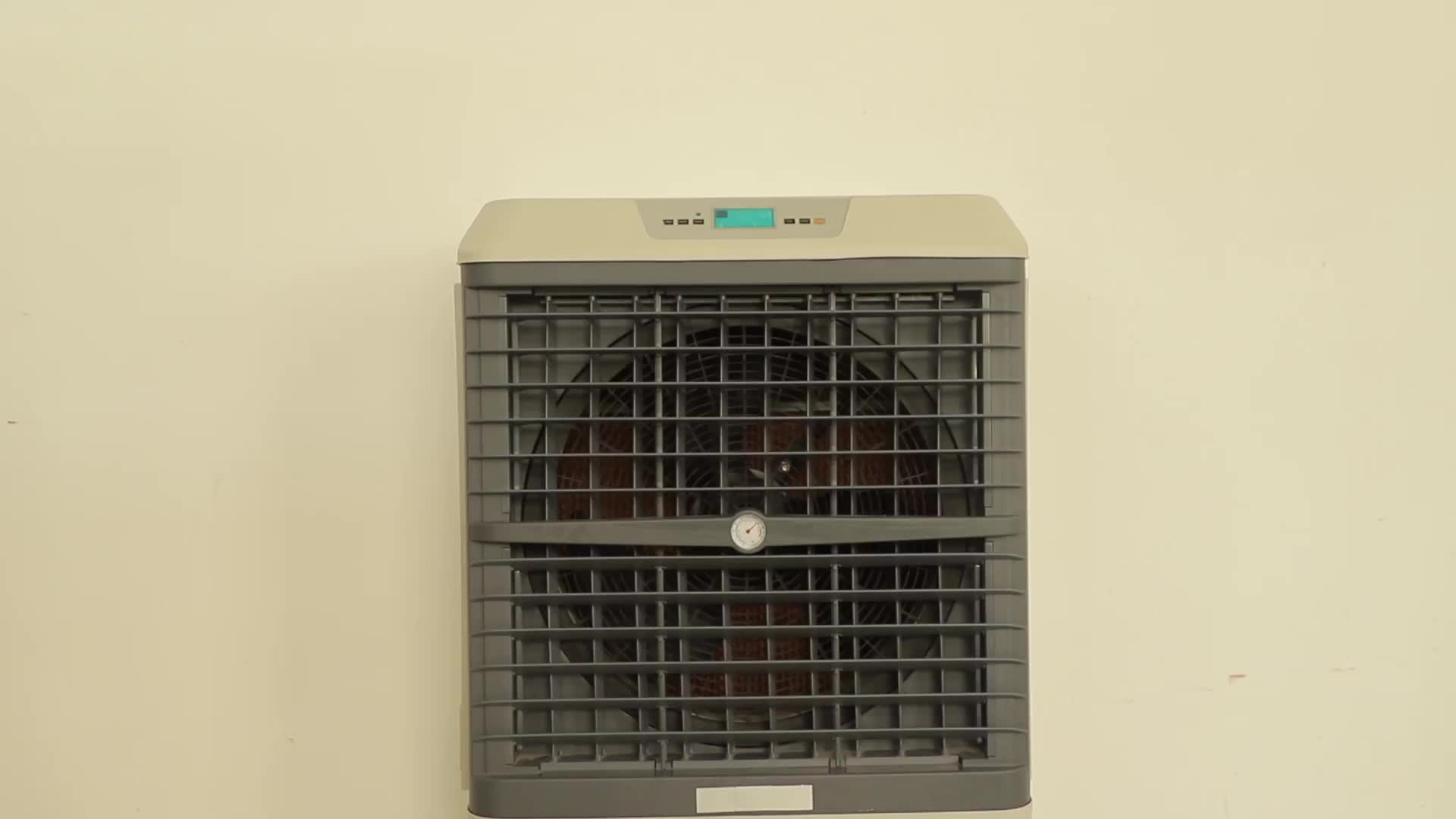 OEM 4500CMH Evaporative Mobile Air Cooler For Garden Use