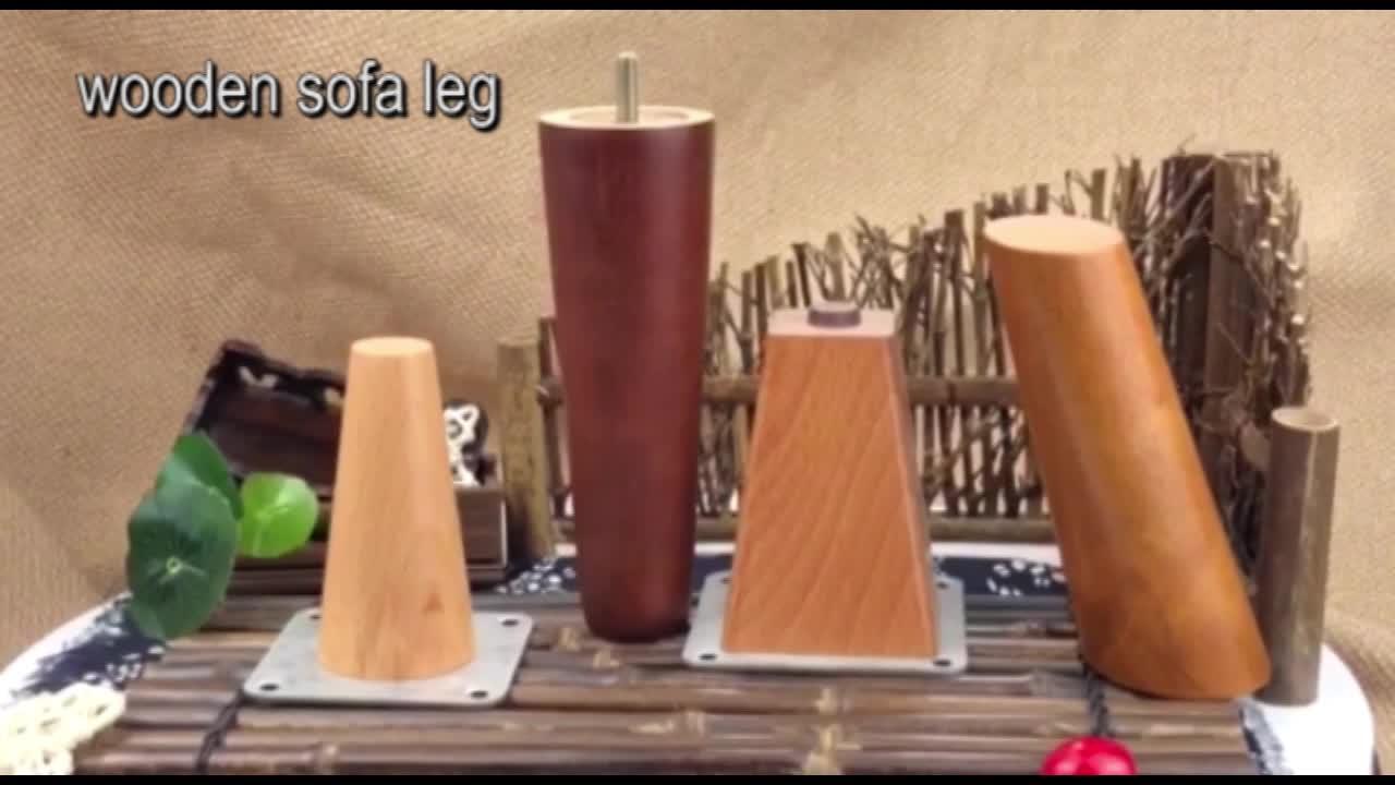 Fabrik Direkt Heißer Verkauf Holz Bein Massivholz Bein Für Sofa Und Möbel