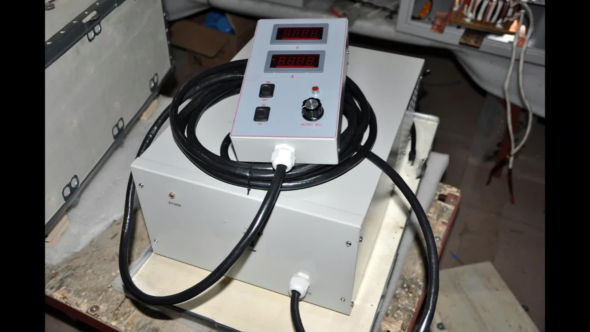 Nikel kalay çinko krom kaplama güç kaynağı 12 V 1000 amp doğrultucu