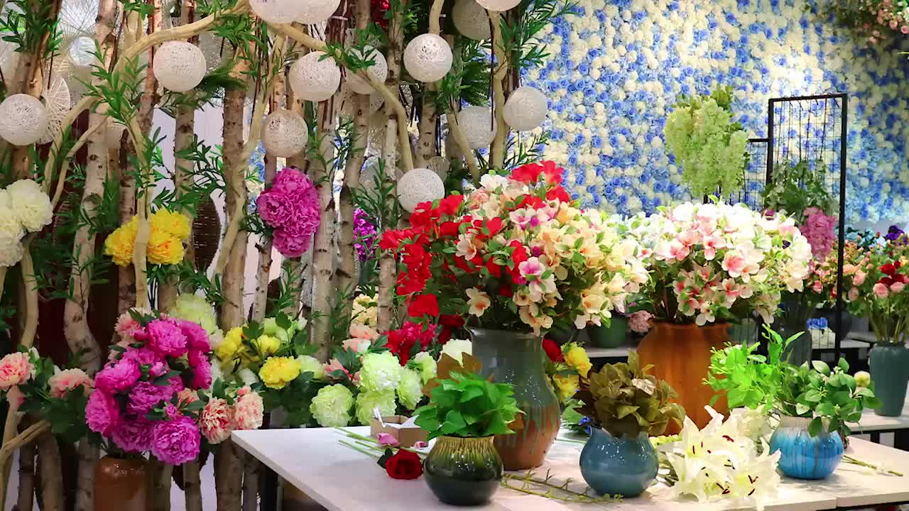 Handmade Artificial Giant Paper Flower Paper Flower Wall For Wedding Decoration