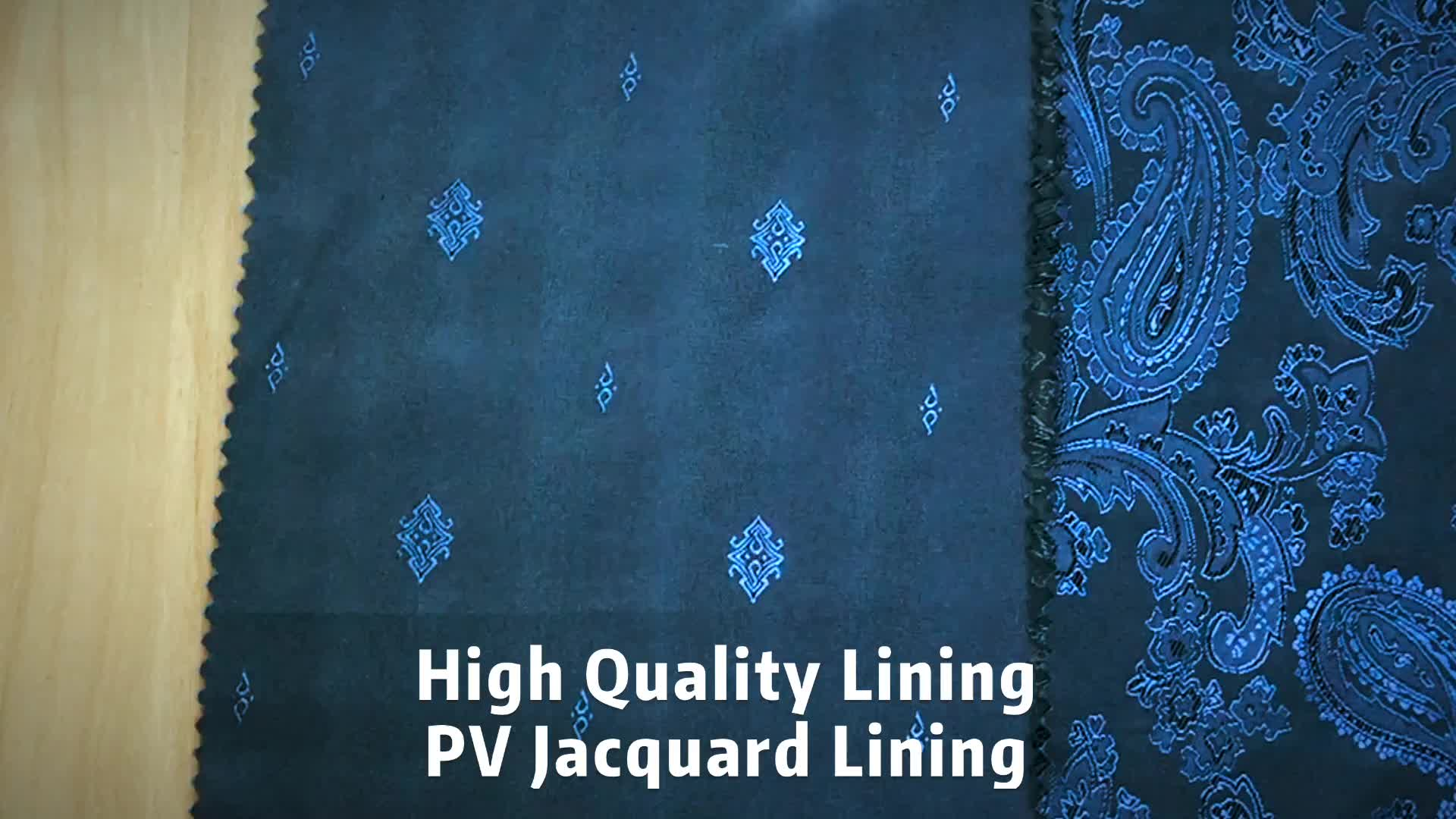 high grade diamond jacquard linings plaid pattern two tone quality woven interlining fabrics per meter