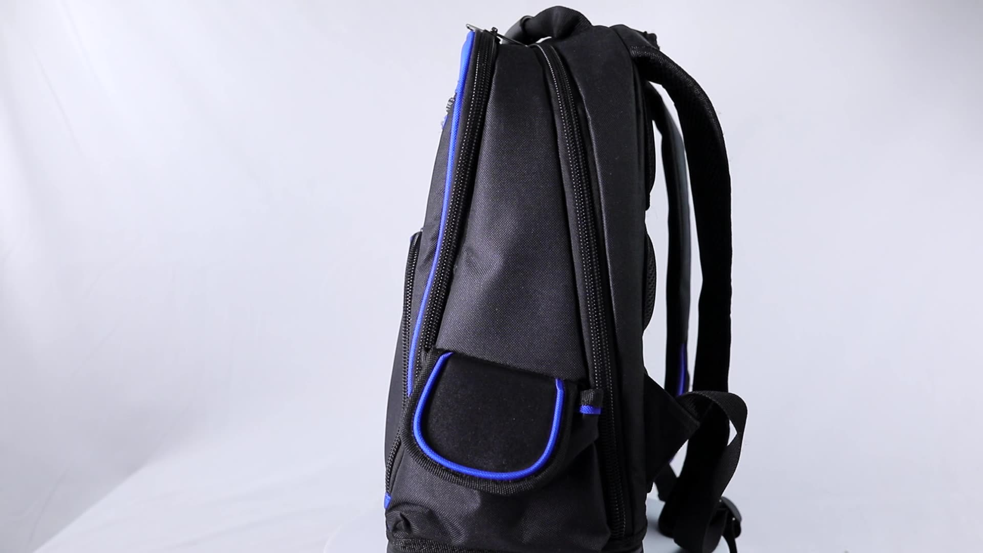 rubber bottom computer backpack tool bag electrician