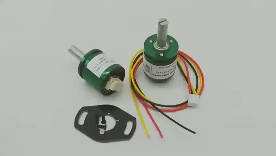 360 Degree Contactless Hall Angle Sensor 0-5V output Hall Effect Potentiometer Sensor