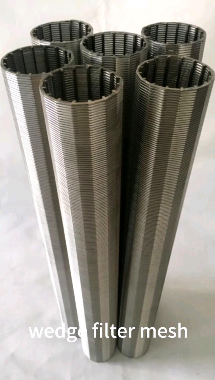 Johnsons Self Cleaning stainless steel Wedge Wire Coanda Water Treatment Intake Coanda Effect Screens