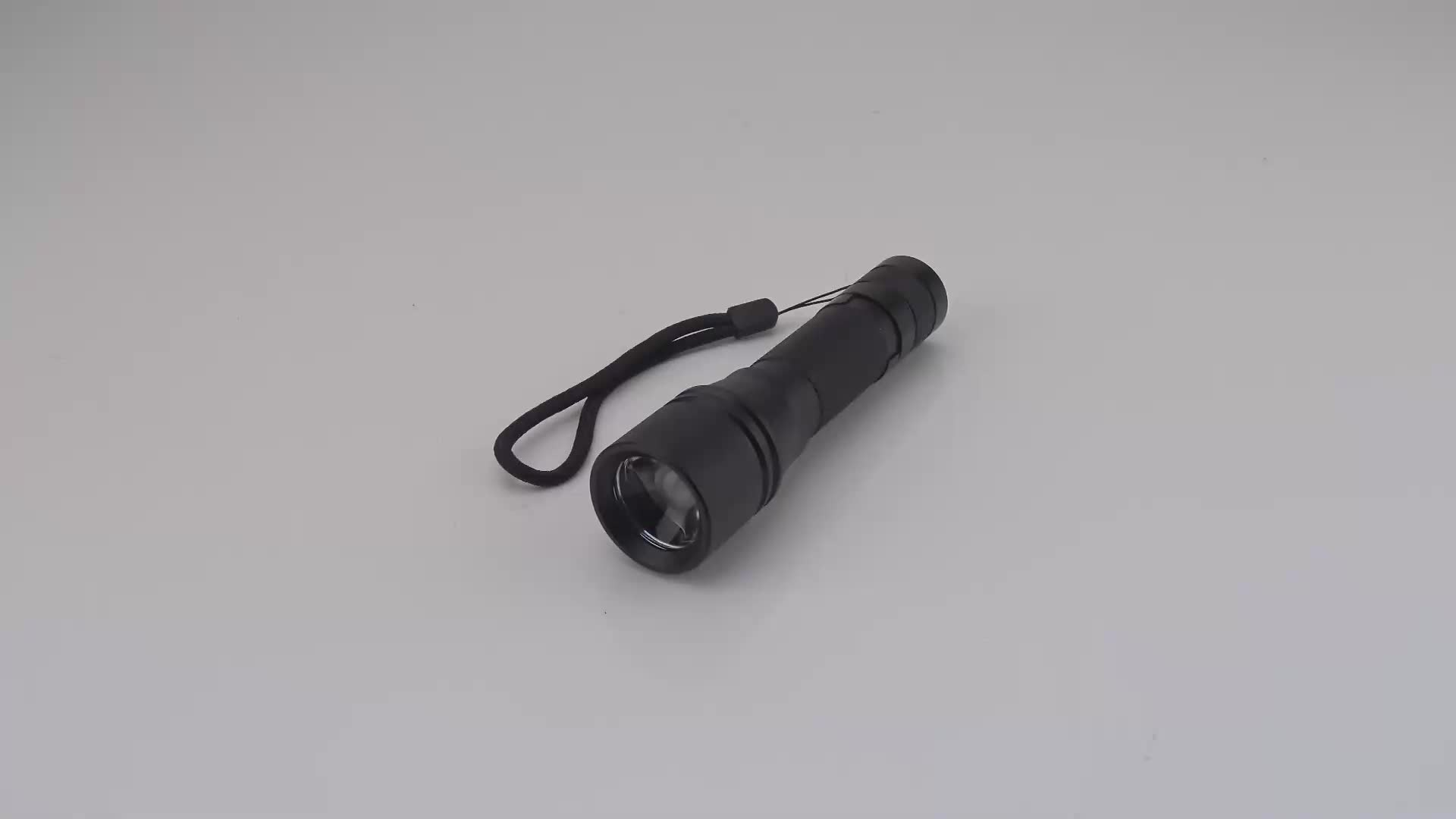 1200 Lumen Mini Pocket Torch Zoom LED USB Rechargeable LED Flashlight Tactical For Camping