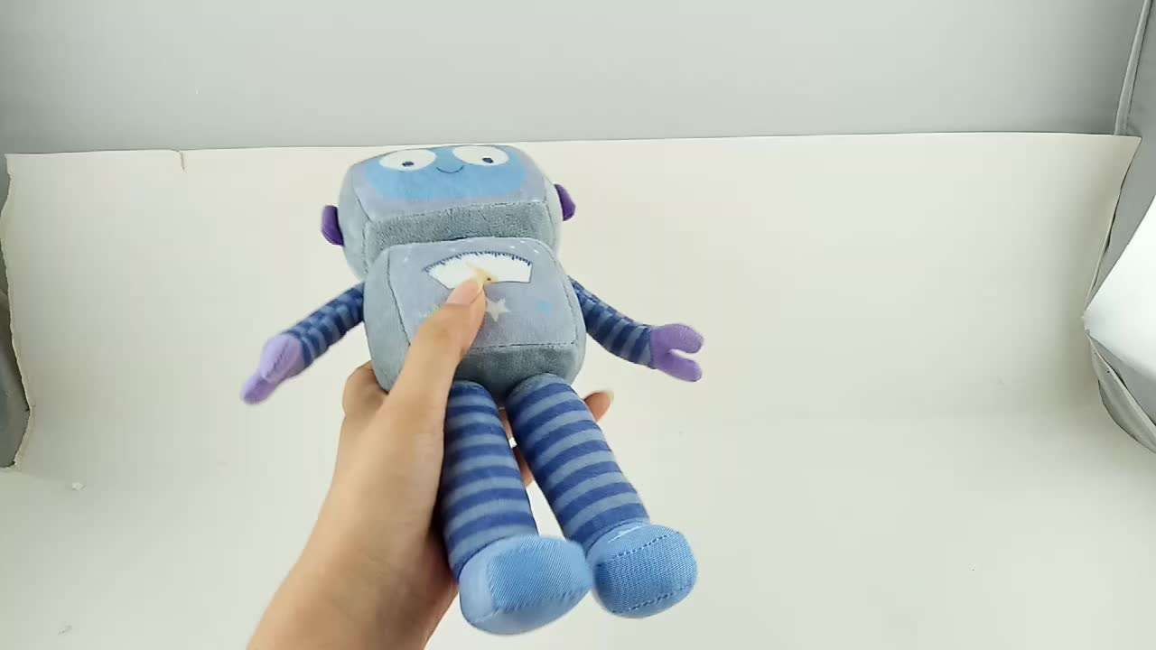 New Products Peluches Smart Intelligent Cute Robot Doll