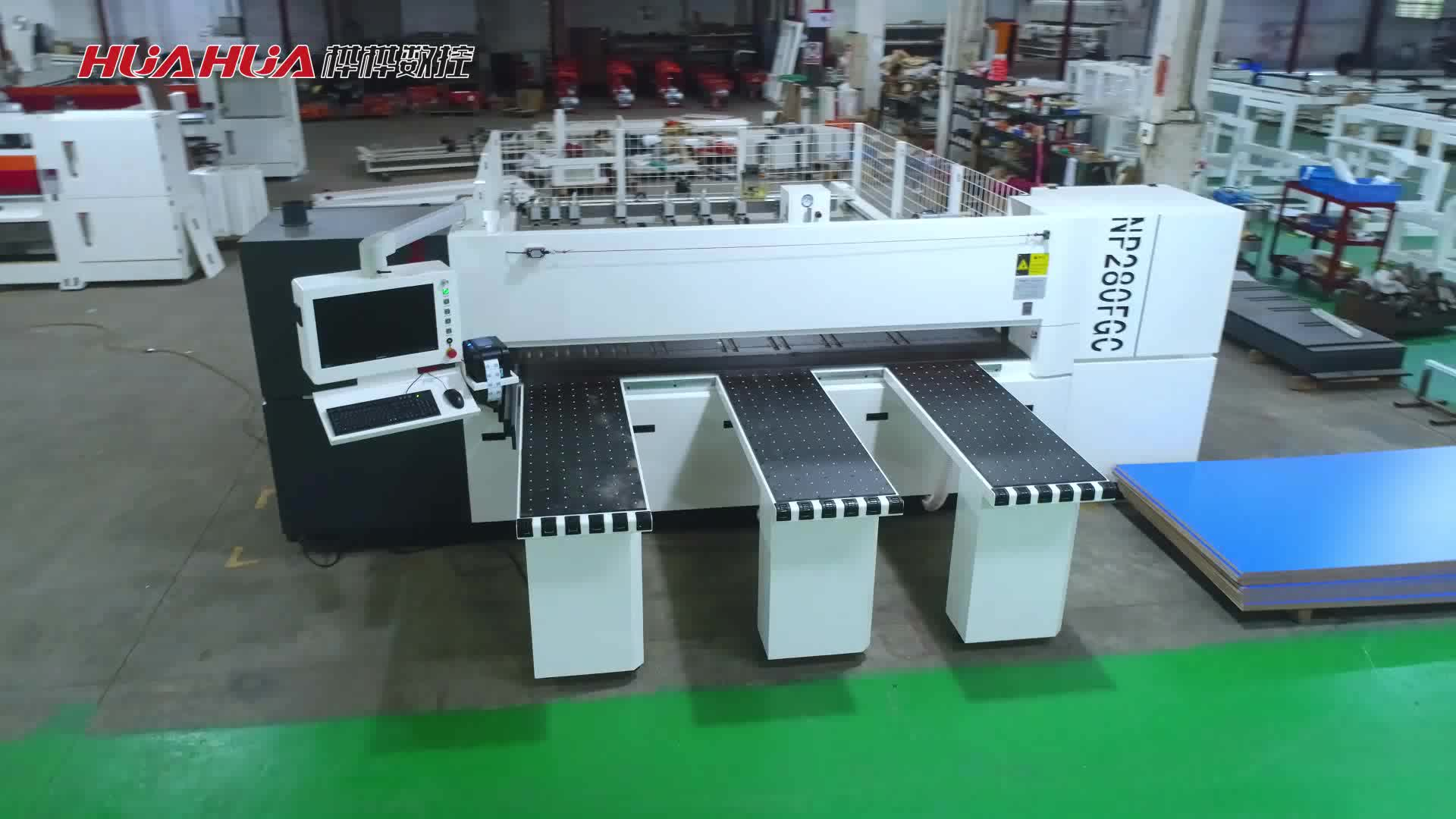 NP280FG automatic beam saw woodworking for sale