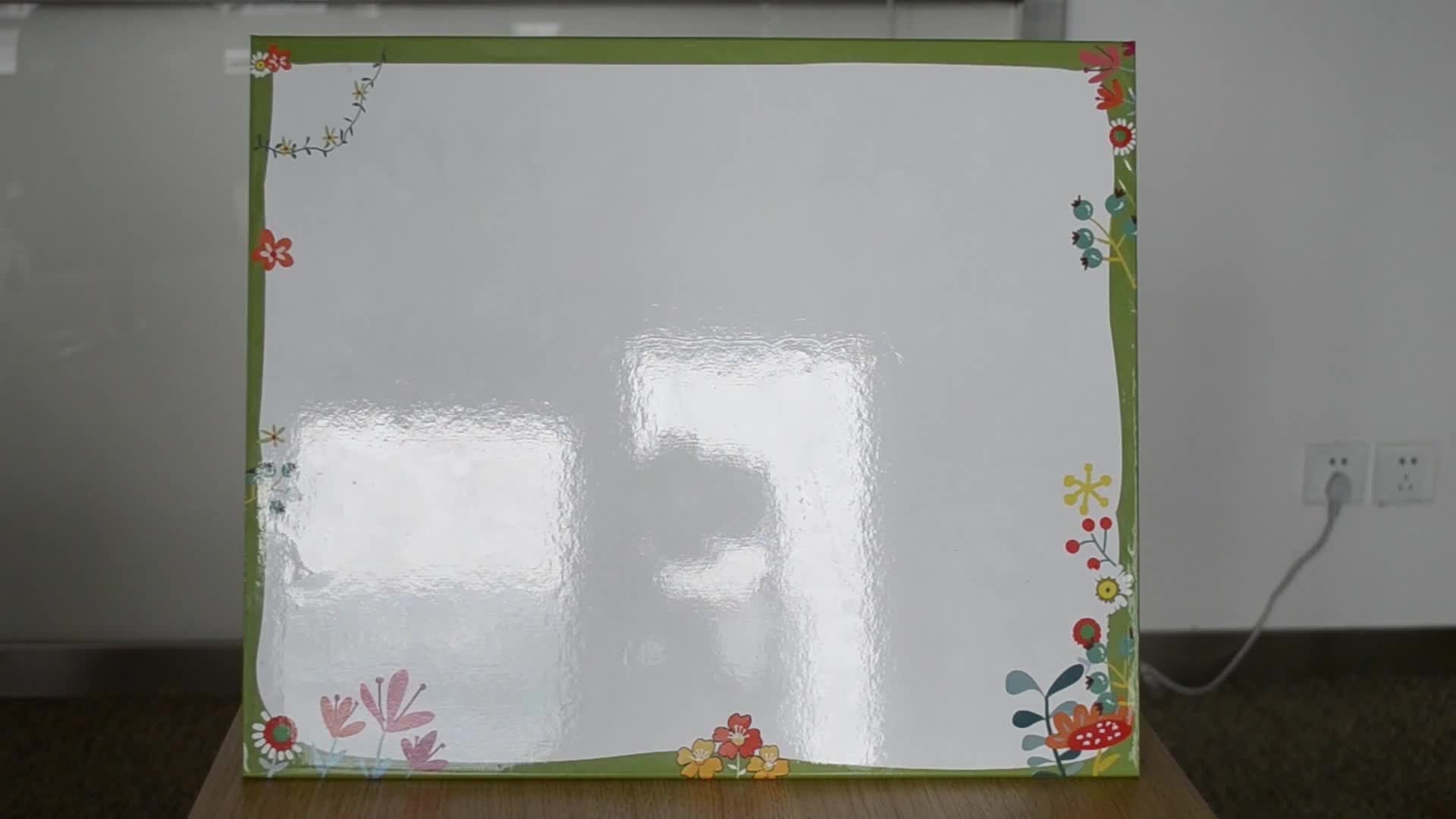 TW1.4-1 Foldable व्हाइटबोर्ड शैक्षिक खिलौने चुंबकीय सीखने संसाधनों शैक्षिक खिलौने बच्चों के लिए