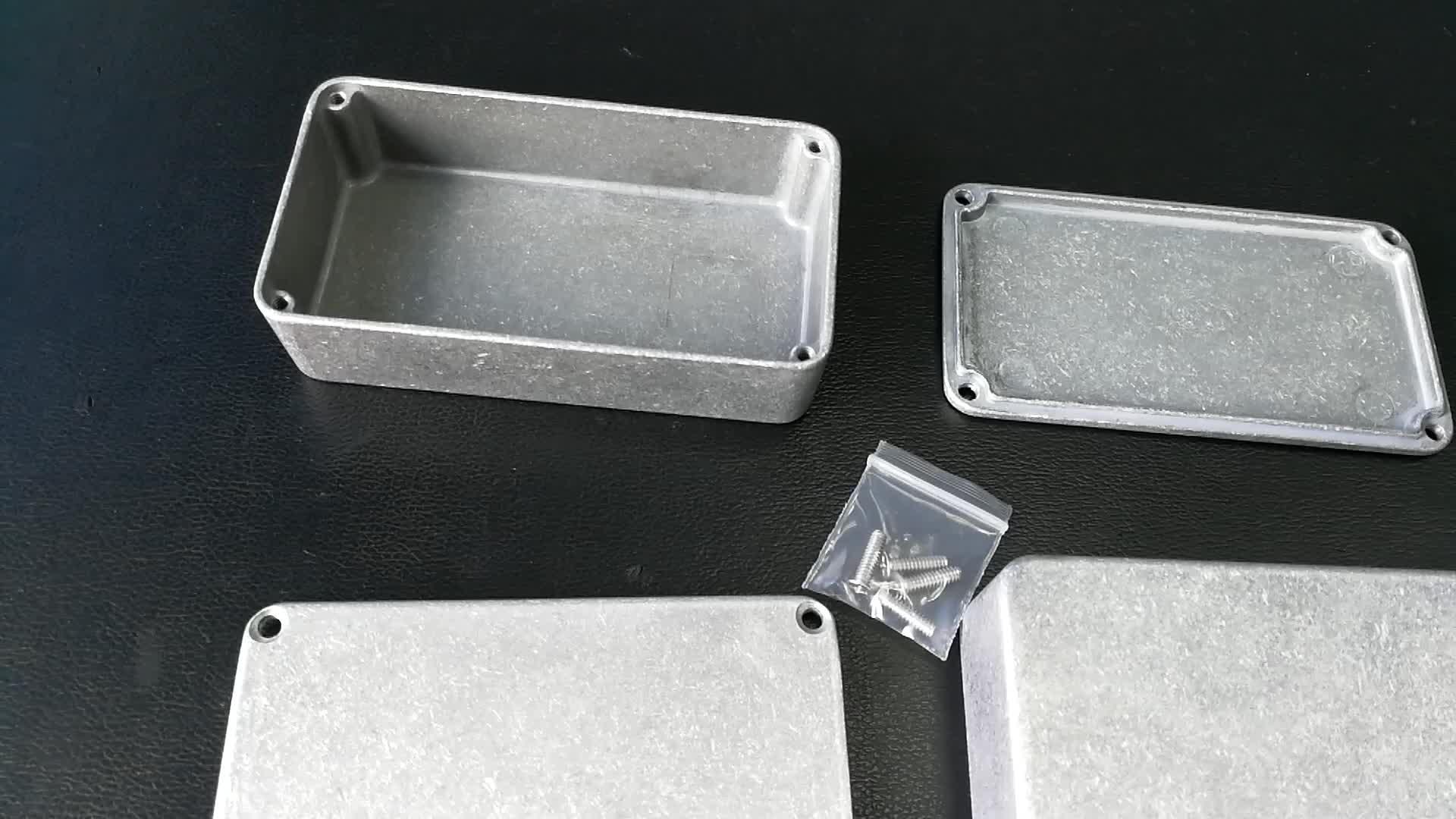 """4,41 """"* 2,4"""" * 1,23 """"1590B impermeable fundición cajas de aluminio"""