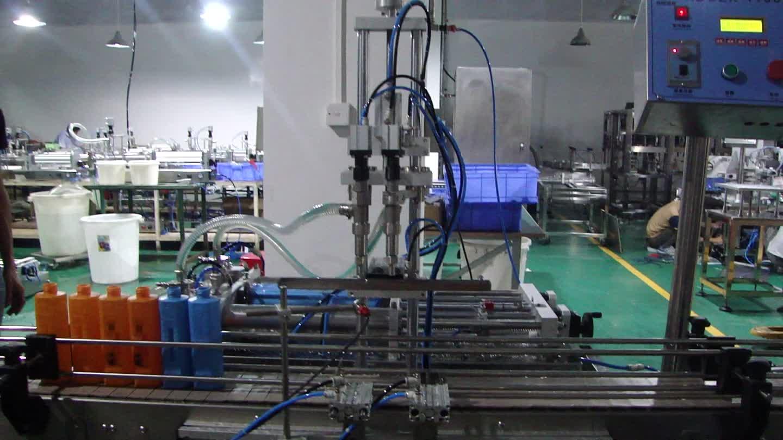 Pequeña planta de producción para botella de llenado y tapado de la máquina