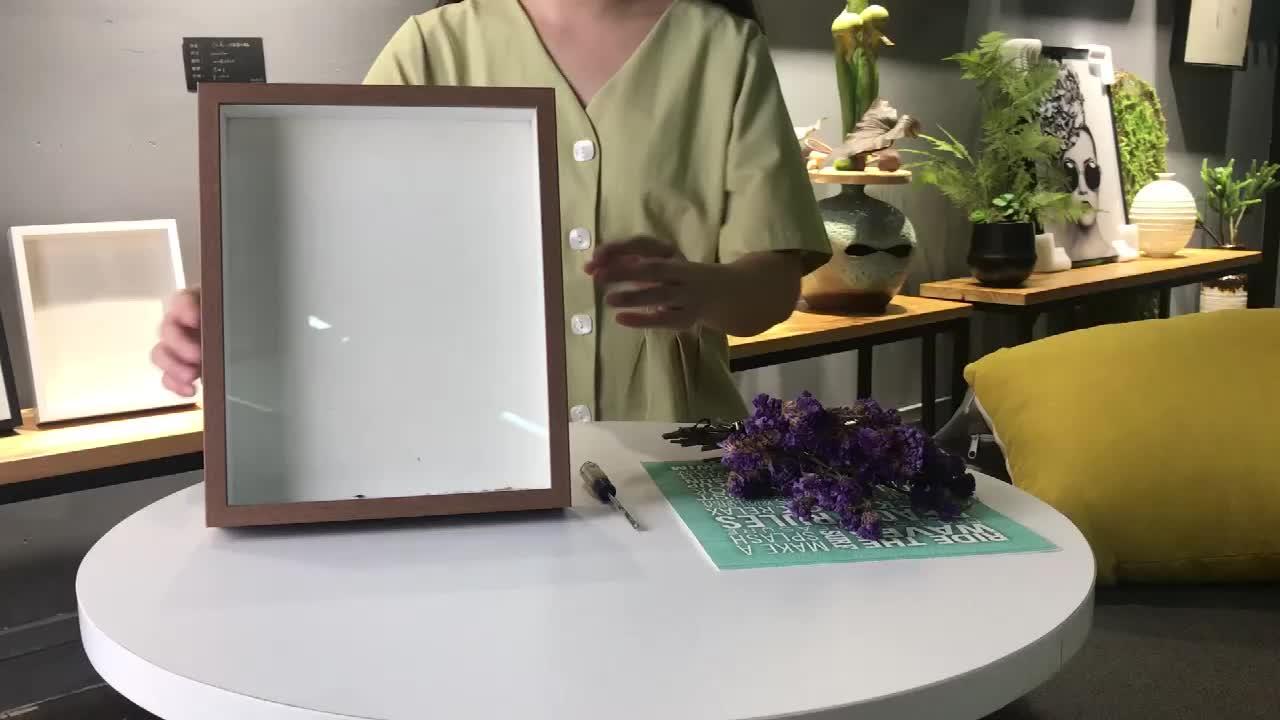 Butterfly Specimens Frame 3D Deep Glass A4 Shadow Box Photo Frames