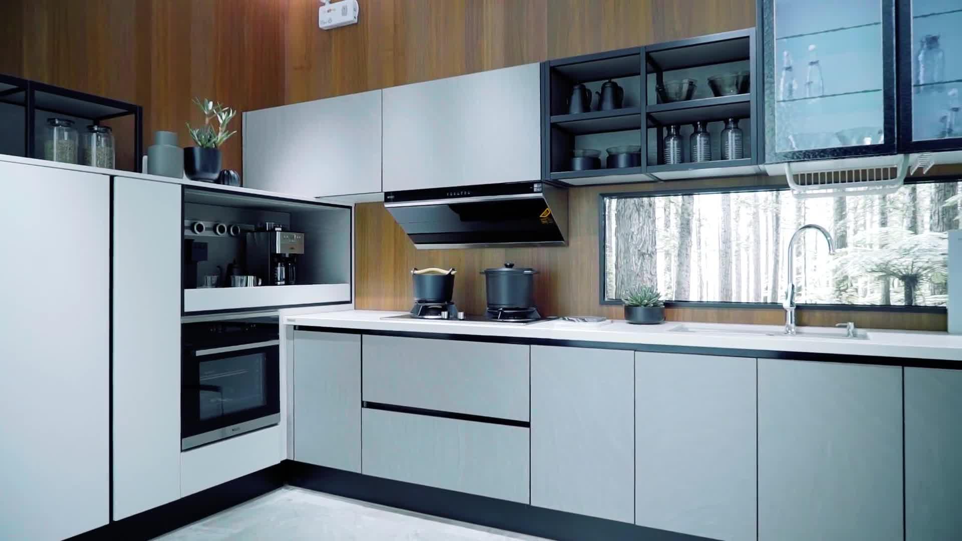 Oppein Vietnam Contemporary Kitchen Cabinets Designs For