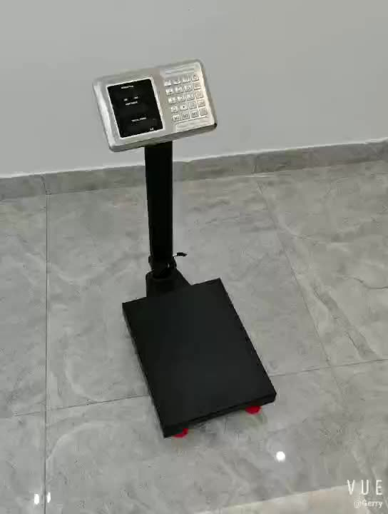 tcs 100kg 300kg 350kg weight measuring machine digital balance scale with stainless steel indicator