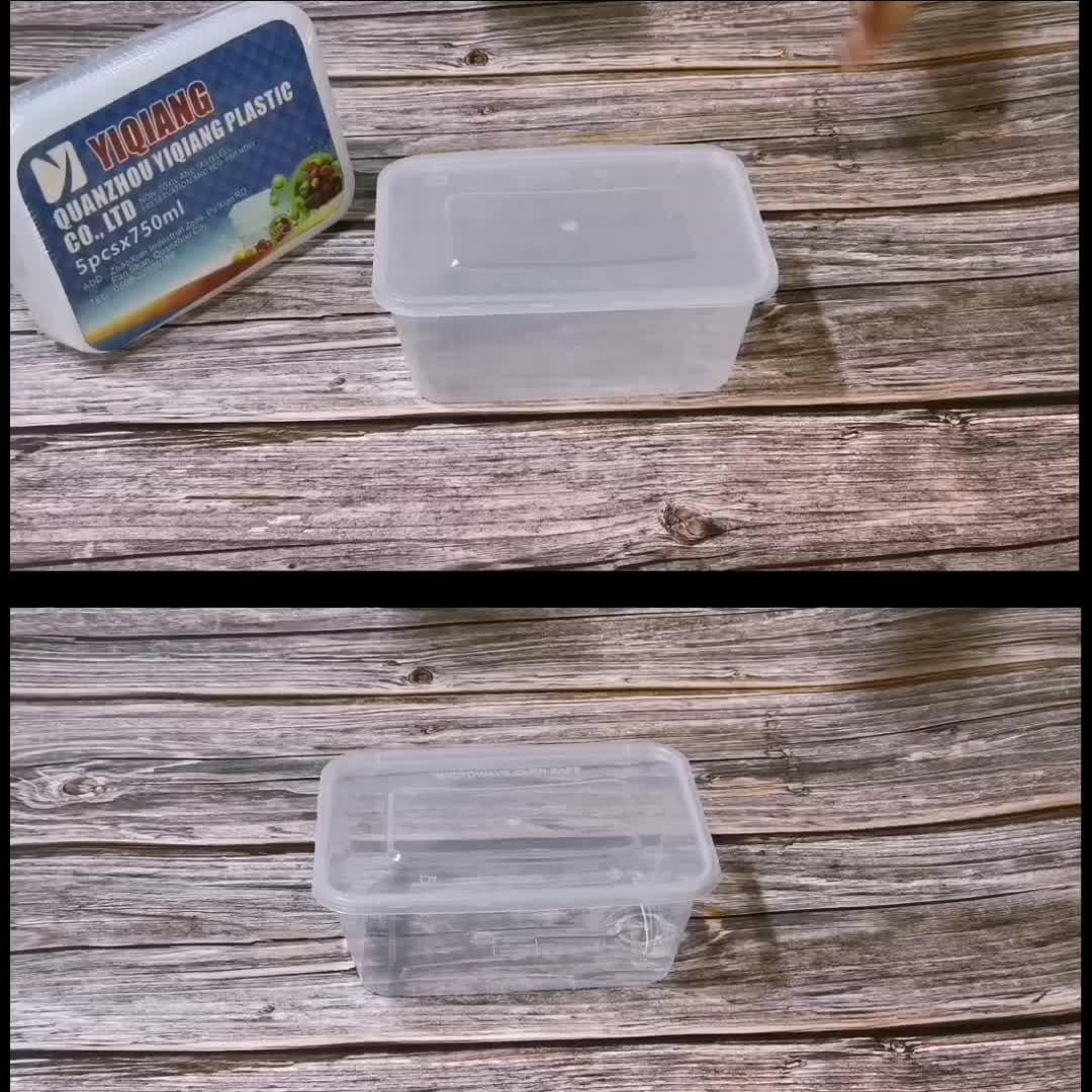 큰 clear plastic 일회용 테이크 아웃에 storage 상자 & 함 microwave 가정 용품 식품 용기 대 한 냉동 도매 수입을
