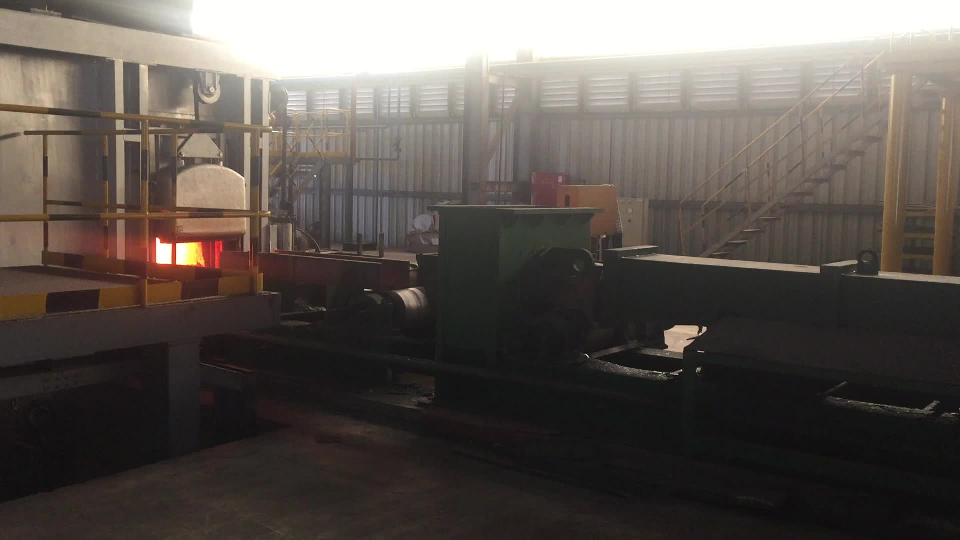 Large Power IGBT billet steel induction heating production line