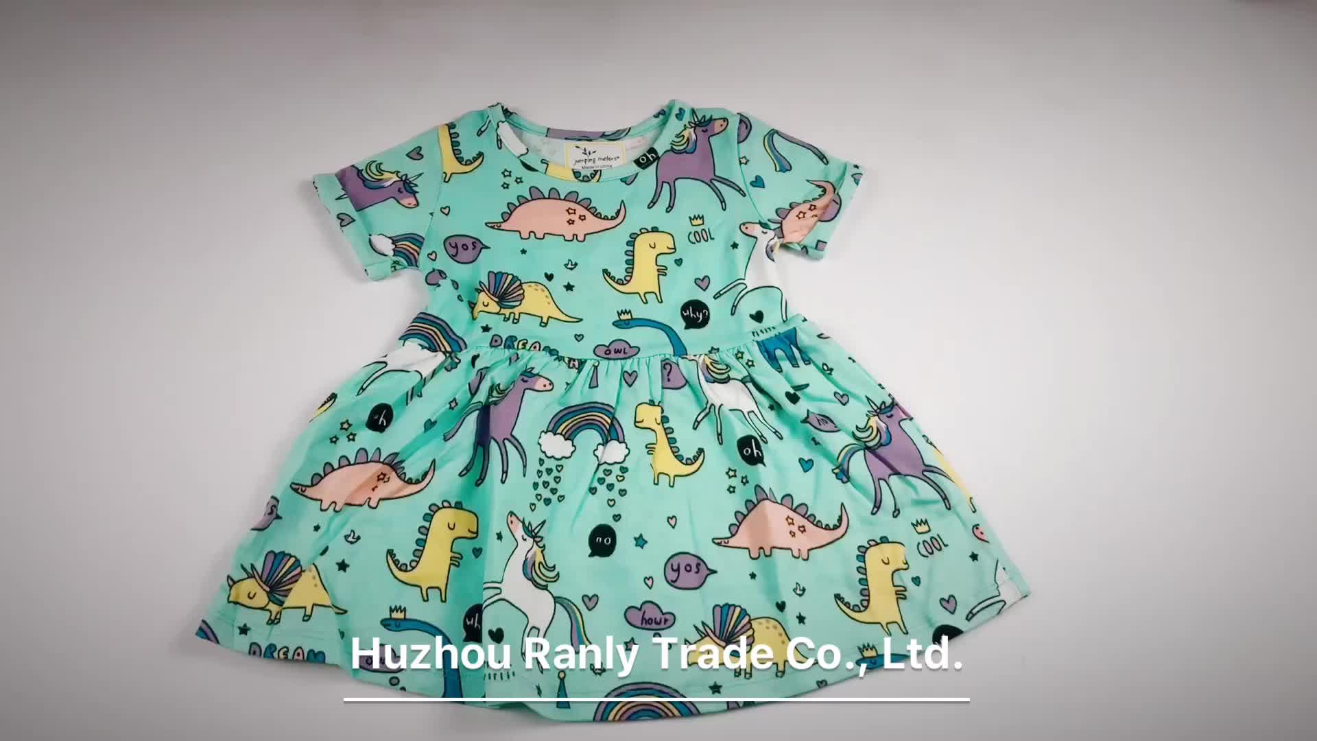 Cool Style boutique unicorn kids clothing for wholesale RL190019