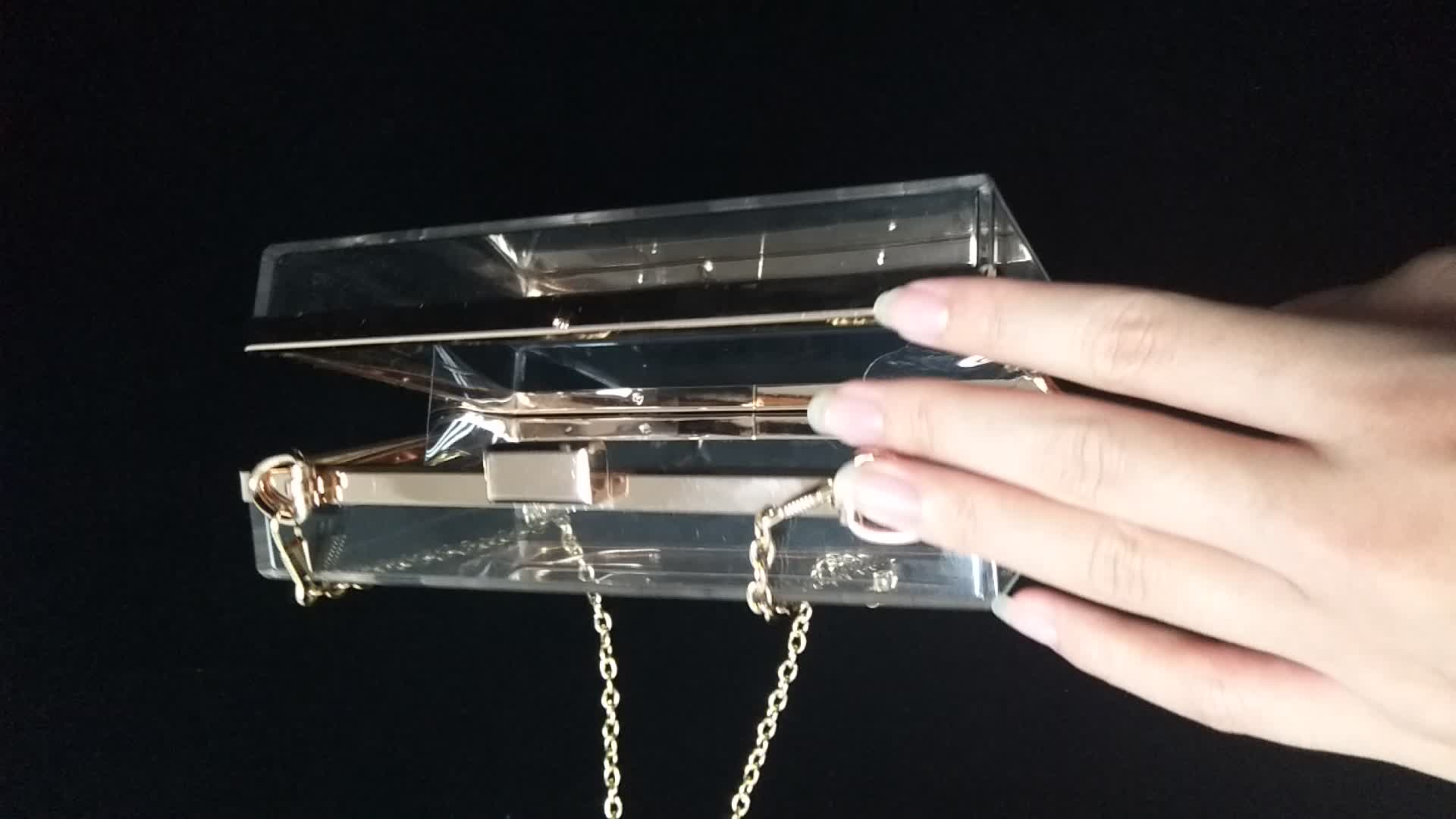 Personalized Transparent Acrylic Clutch Bag Trendy Designers Handbags for gift  Gifts Crafts