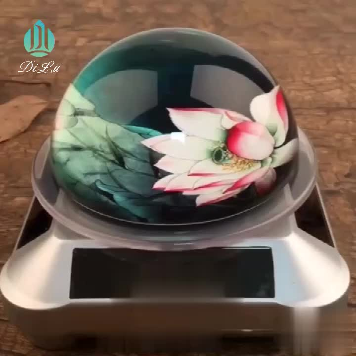 DILU K9 optical crystal half ball paper weight / crystal Prism paperweight /wedding gifts crystal diamond paper weight For Gifts