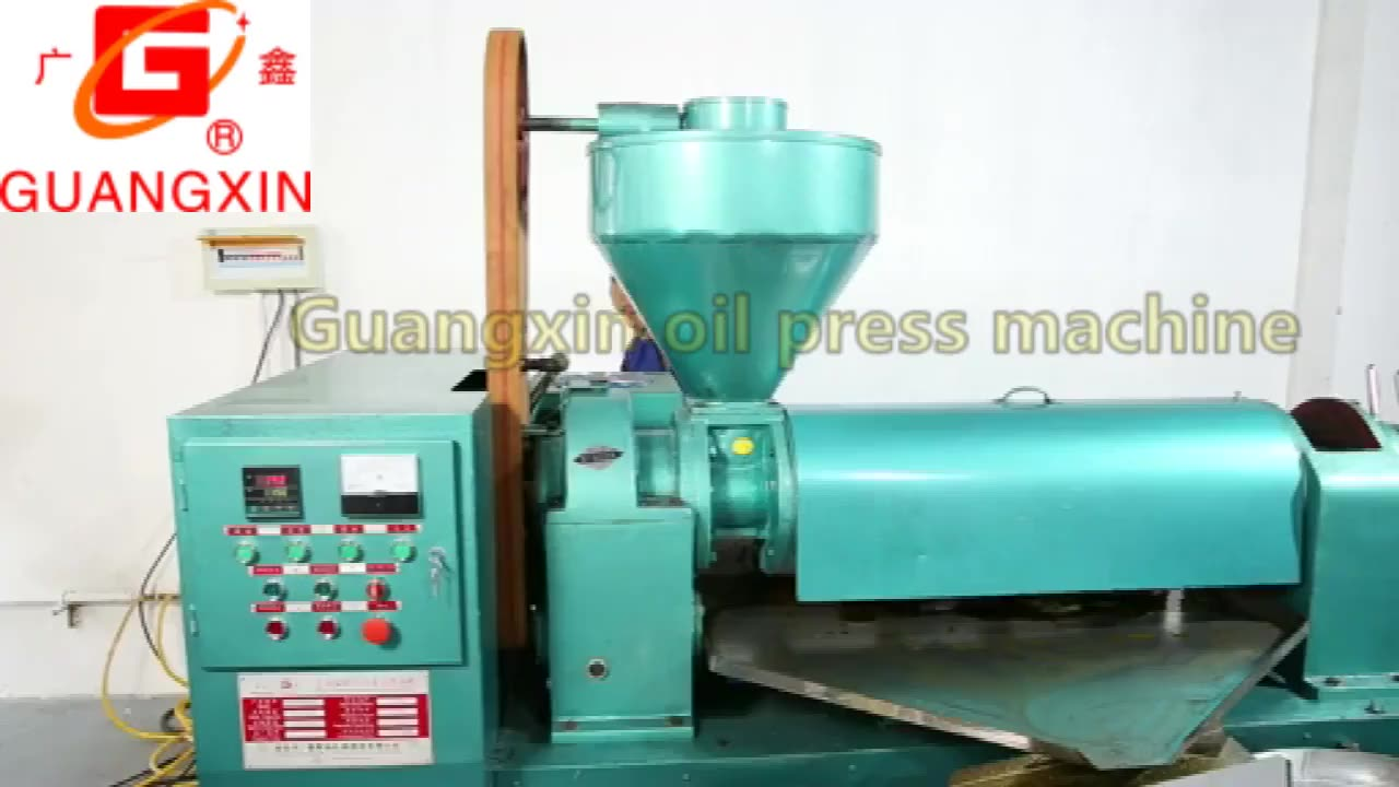 3.5TPD Cold Press Combined Palm Sunflower Oil Machine from Guangxin Brand