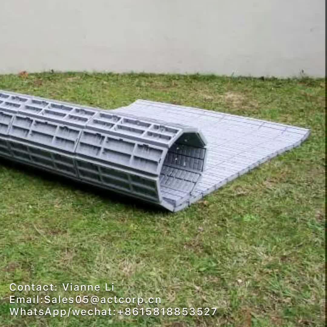 Açık PP Malzeme Taşınabilir Çok Amaçlı Pp Plastik Çim Koruma Olay Döşeme, çim kapağı