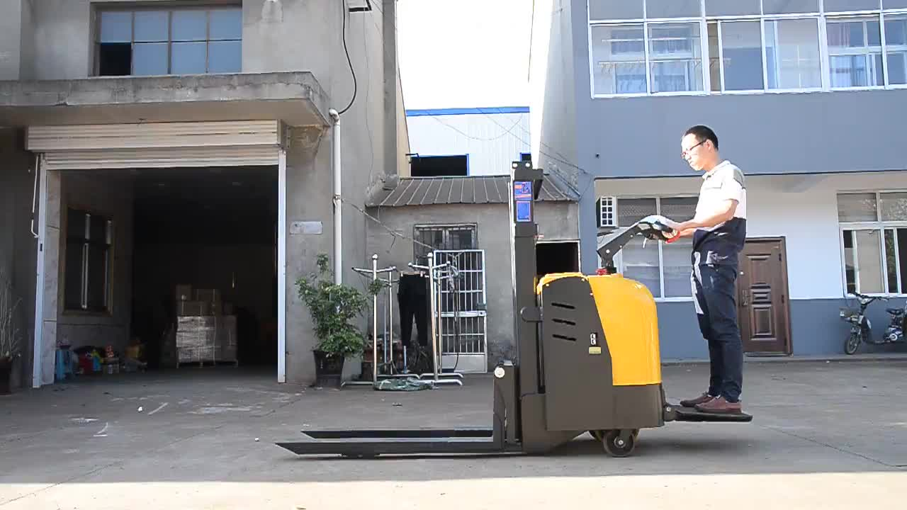 Self-Propelled Electric stacker truck wholesale