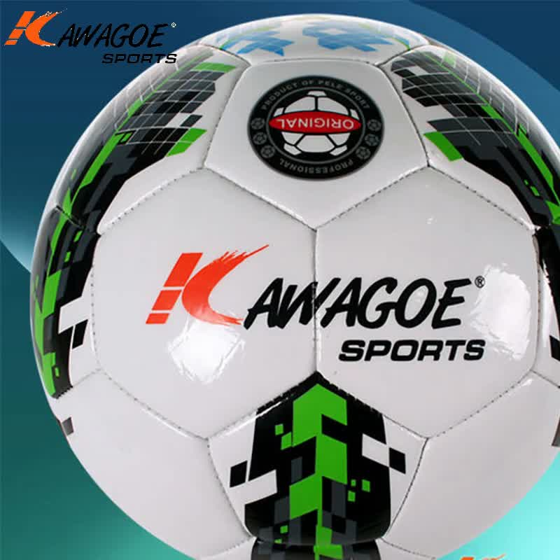 Wholesale size 5 football promotional pvc soccer ball