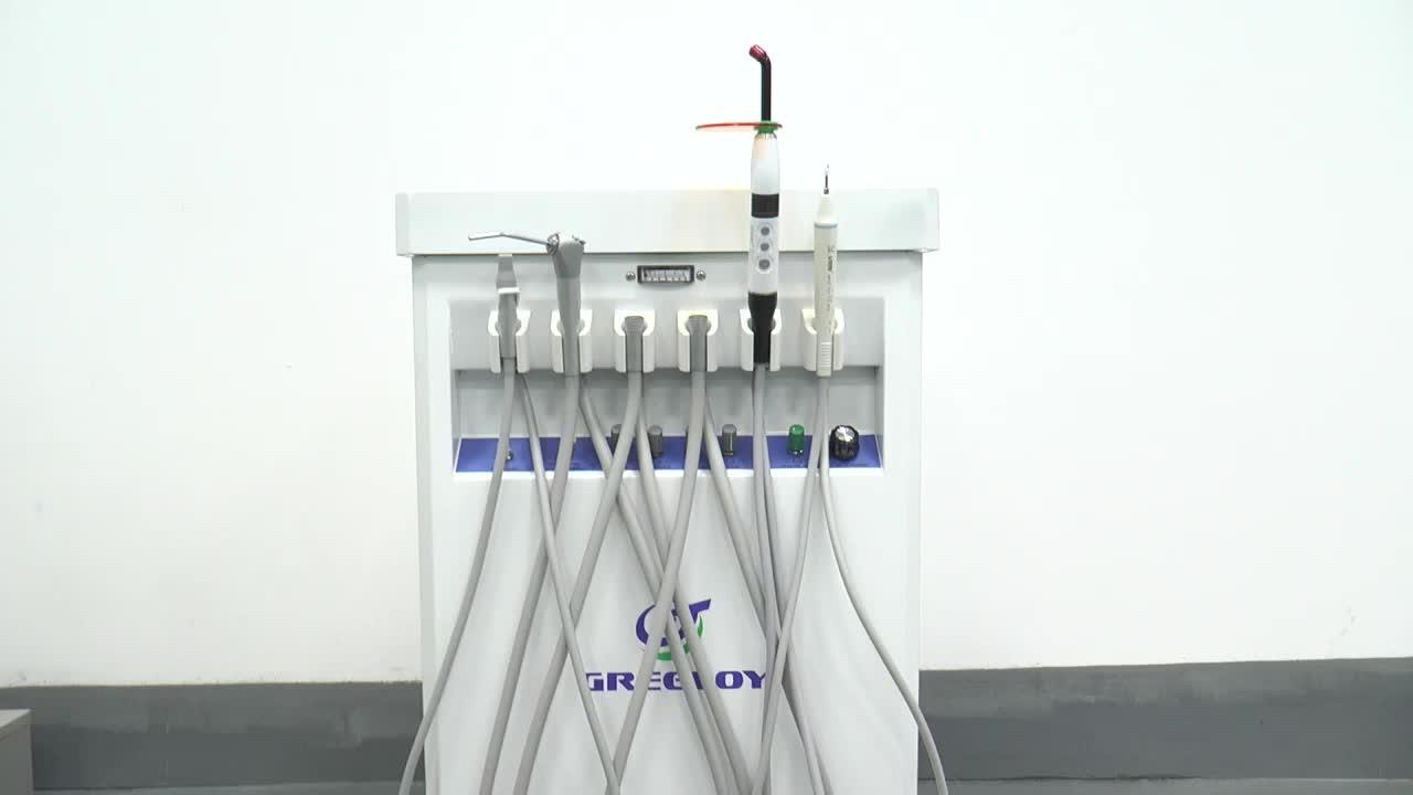 歯のホワイトニング機器/スケーラーで携帯歯科椅子ユニット
