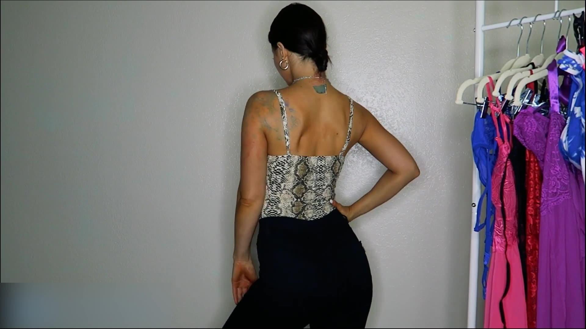 Leopar sling dip kadın tüp üst kelime yaka dikişsiz dikişsiz seks bodysuits iç çamaşırı