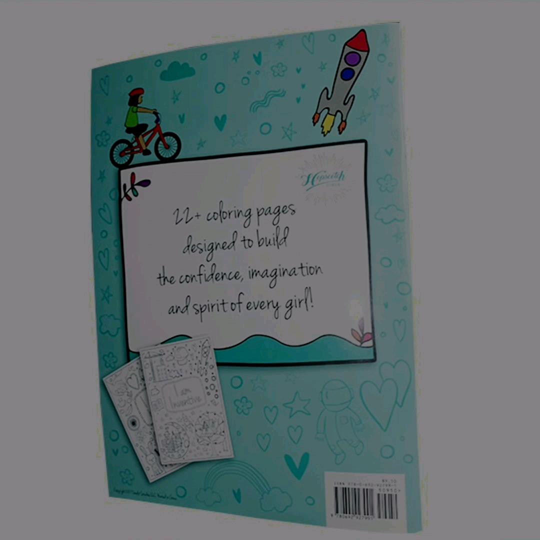 طباعة مخصصة بالجملة خدمة الصورة مجلس الأطفال الرسم كتاب تلوين للأطفال بالطباشير الملون