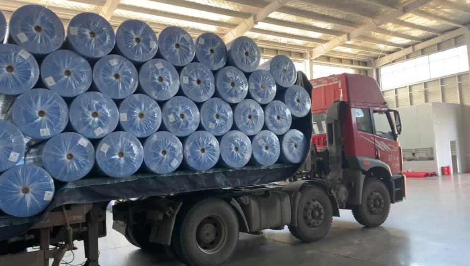 Fabrik-versorgungs vlies spunbond pp Stoff Filter tuch Rohstoff hersteller von nicht-woven stoff rollen