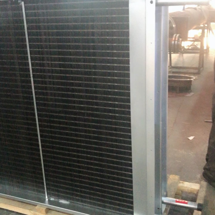 Customized Manufacture Air Cool Water Air Heat Recuperator Exchanger