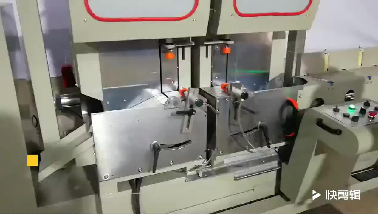 Digitale display aluminium venster yilmaz snijmachine