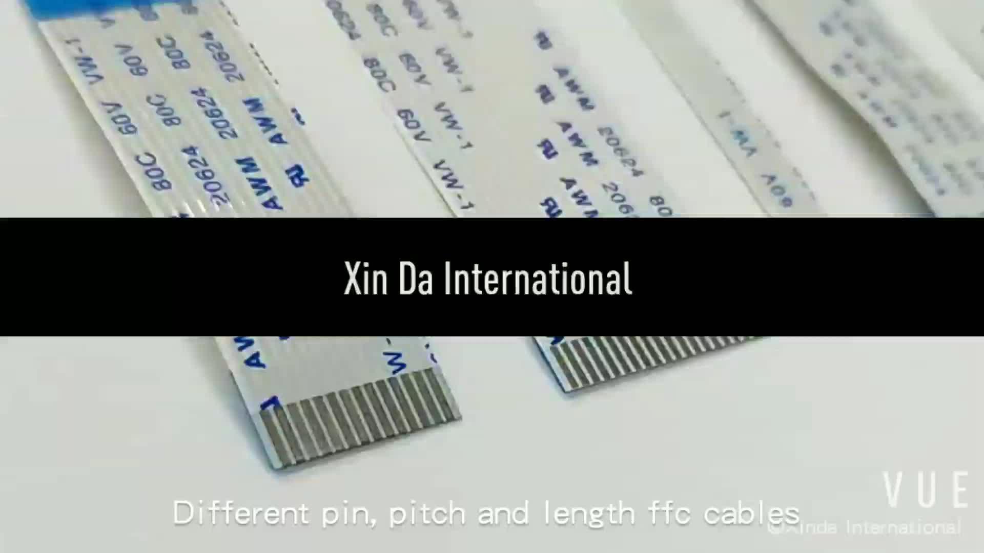 Solderen type 40pin 0.5 MM toonhoogte 205mm lange FFC platte kabel voor PCB board