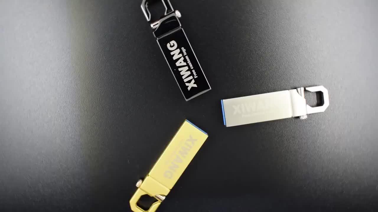 Metal Mini Stainless Steel waterproof keychain usb 2.0 memory flash stick pen drive 8GB 64GB