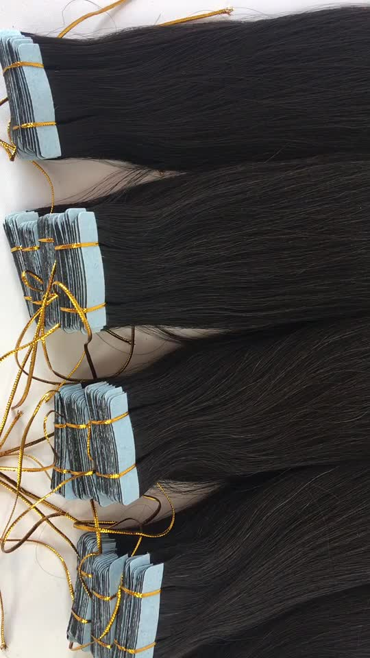Clear Band Mini Wholesale Babe Tape Hair Extensions