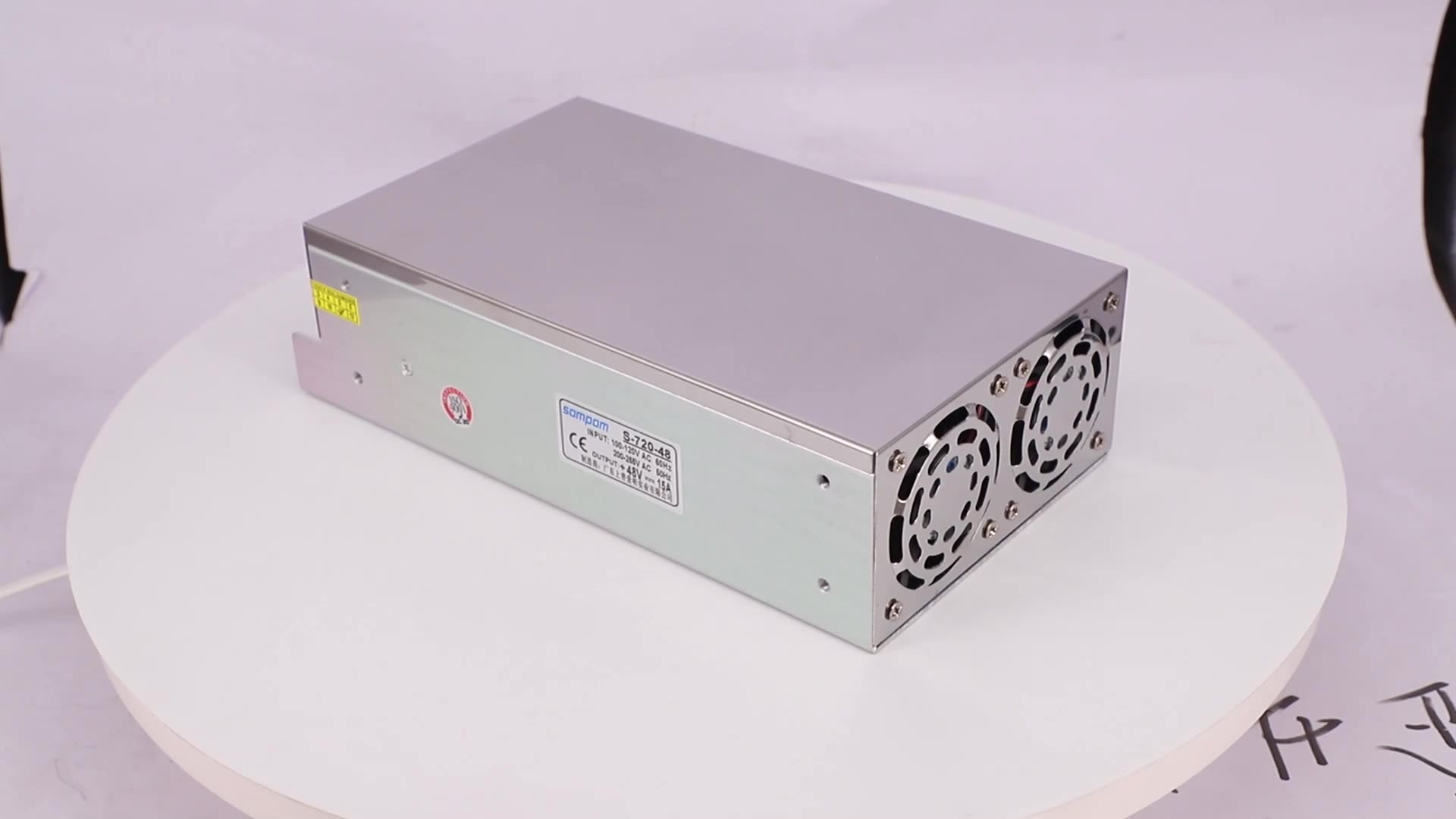 Rectifier Modules 220V 600W LED Driver 48V 15A DC Switching Power Supply with CE FCC RoHS Standard