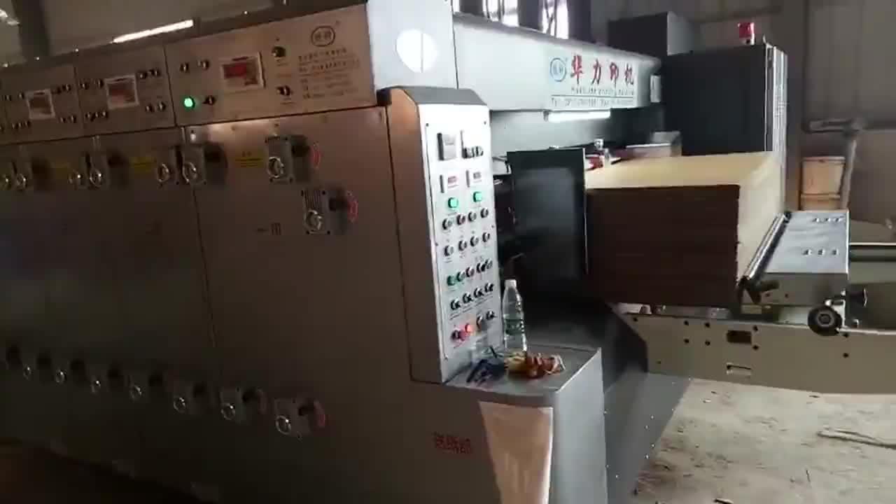 Usato automatico cartone ondulato cartone flexo stampa morire macchine da taglio