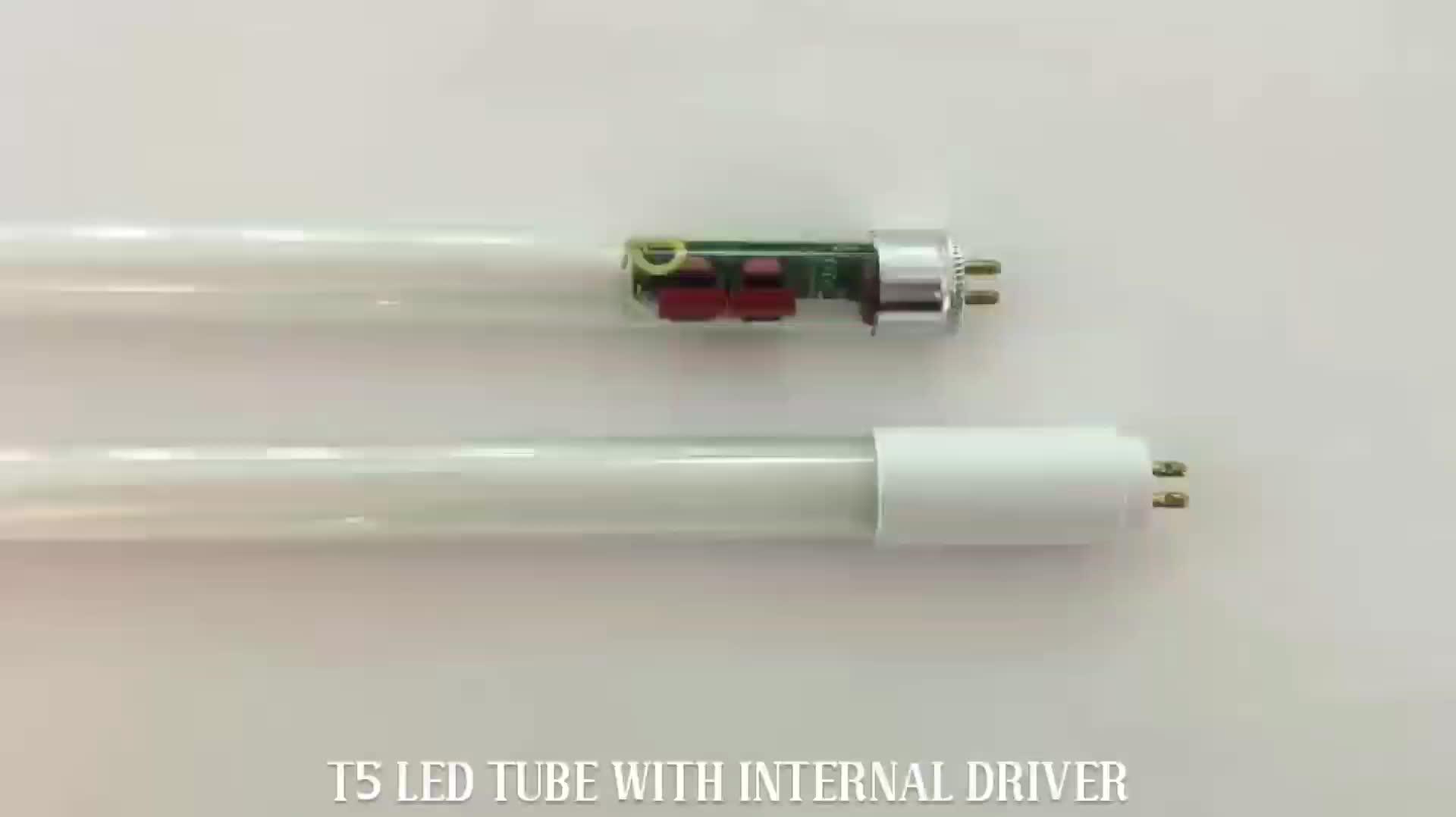 CE ROHS high quality 18w 4feet T5 led tube lamps ,led glass tube light G5 base