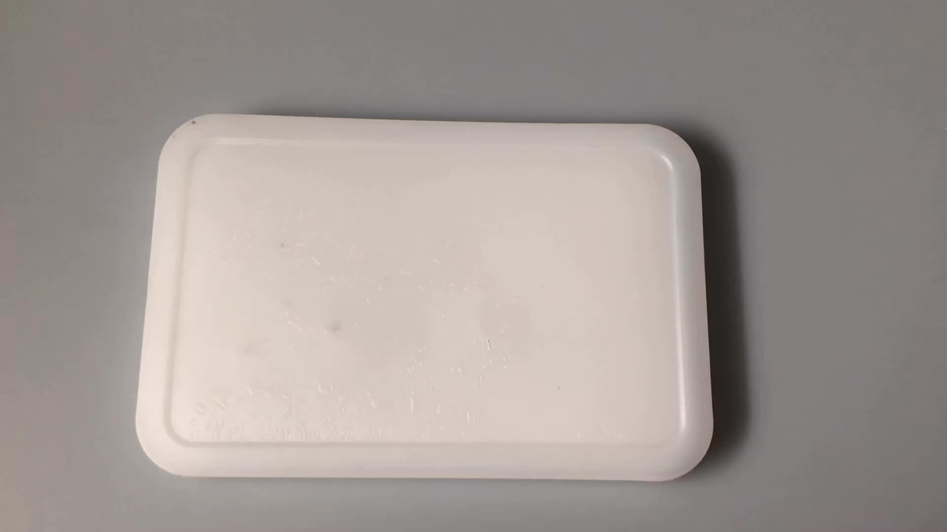 Gıda sınıfı plastik özel boyut buzluk çanta yeniden kullanılabilir İnce jel buz paketleme kutusu öğle yemeği için
