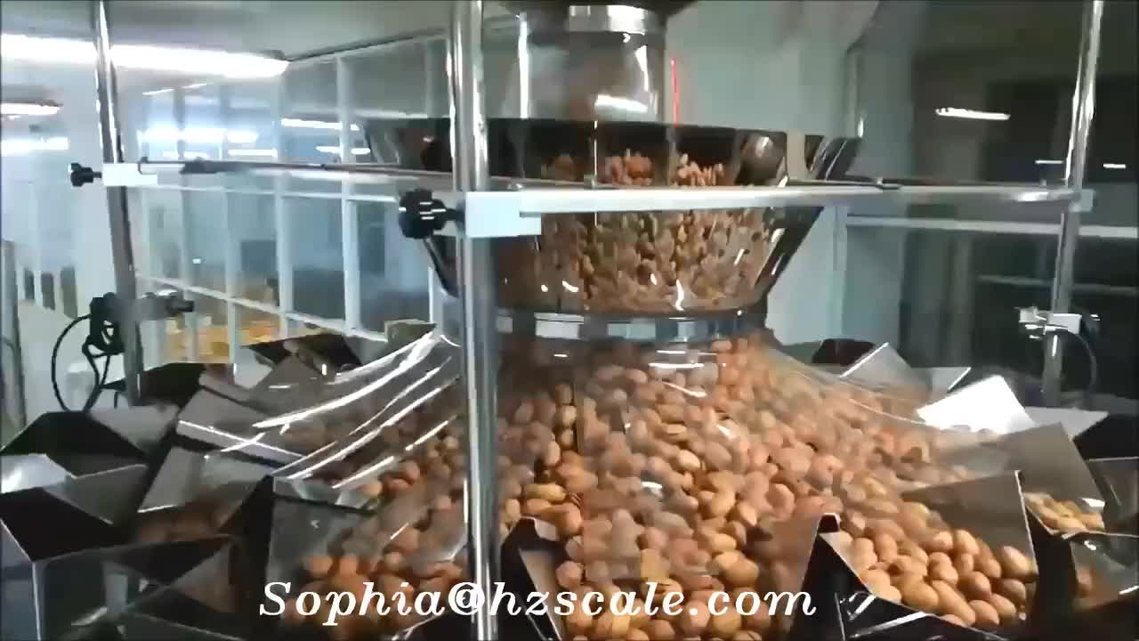 Automatic 14 Heads Multihead Weigher  packing machine