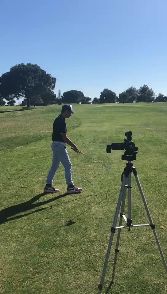 Golf Salıncak Eğitmen Eğitim Uygulama Kılavuzu Acemi Hareket Hizalama Golf Kulübü Doğru Bilek Eğitim Yardım Araçları