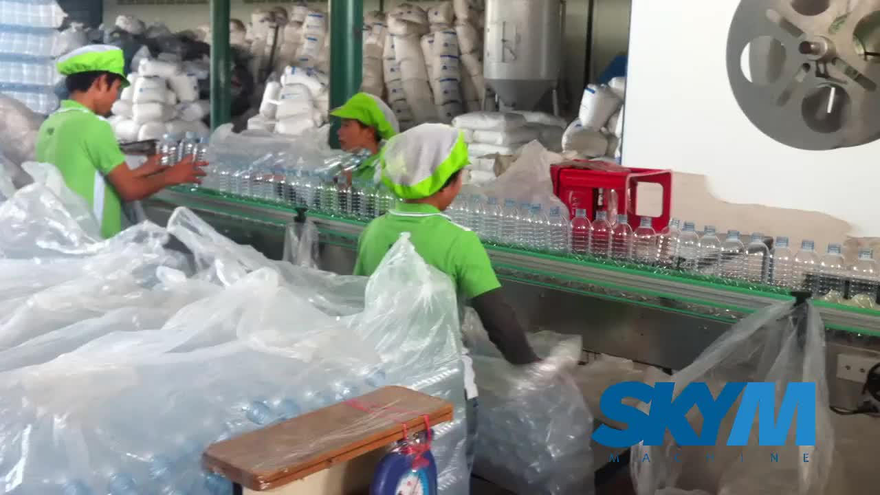 Automatic PVC shrink sleeve labeling machine / equipment for Glass / PET bottle